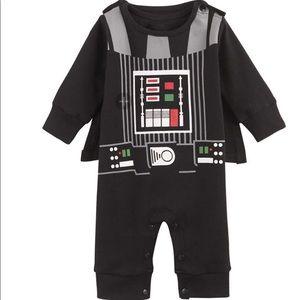 Darth Vader Baby Costume Onesie